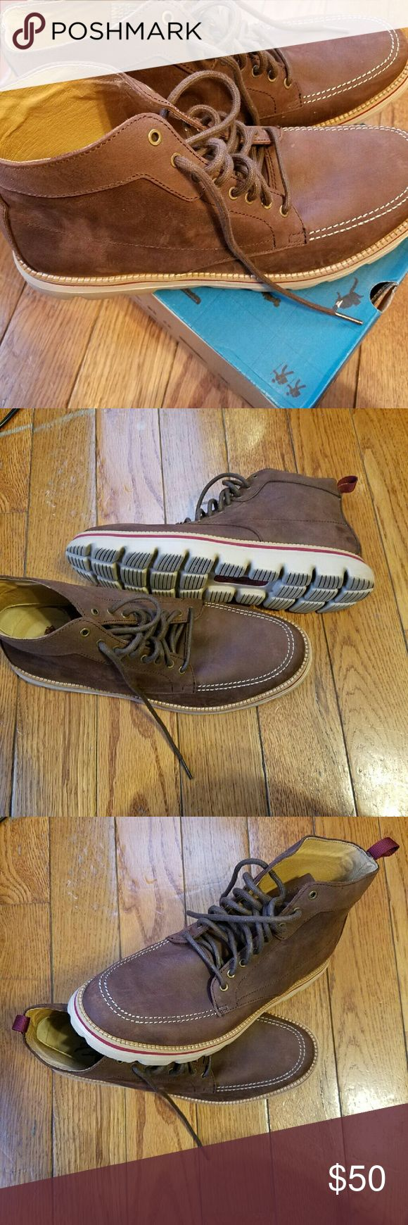 Skechers on the go Skechers men brown boits, good condition, worn once Skechers Shoes Boots