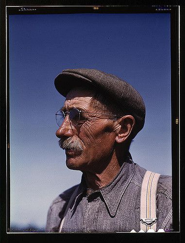https://flic.kr/p/4jCrhA | Gus Worke, a farmer who came from Germany 40 years ago, Southington, Conn.  (LOC) | Jacobs, Fenno,, 1904-1975,, photographer.  Gus Worke, a farmer who came from Germany 40 years ago, Southington, Conn.  1942 May   1 transparency : color.  Notes:  Title from FSA or OWI agency caption. Transfer from U.S. Office of War Information, 1944.  Subjects:  World War, 1939-1945 Farmers German Americans United States--Connecticut--Southington   Format:  Transparencies--Color…