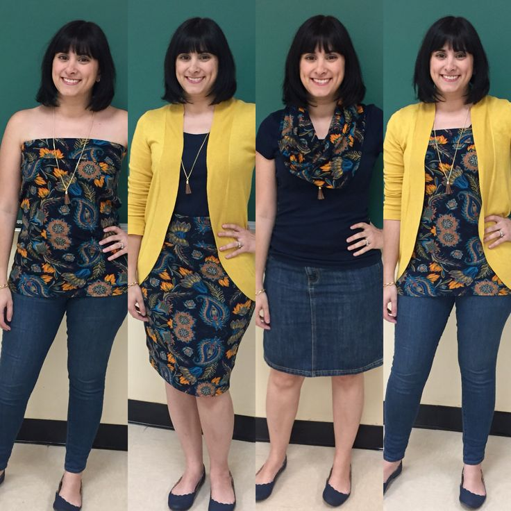 4 ways to wear a LulaRoe Cassie (Instagram @missmatchfashion)