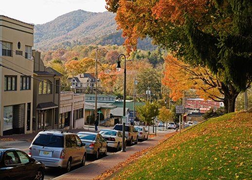 Main Street Waynesville Nc My Home Town