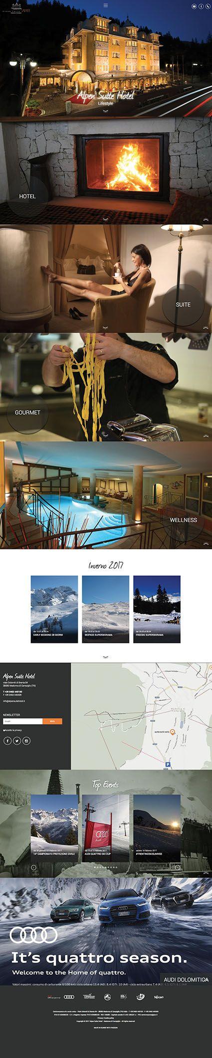 #alpensuitehotel www.alpensuitehotel.it #Kumbe #portfolioweb #webdesign #website #responsivedesign #responsive #suite #gourmet #hotel #wellness #lifestyle #winter #inverno #summer #estate #snow #ski #skiarea #valrendena #snowboard #madonnadicampiglio #mdc #trentino #dolomitidibrenta #dolomiti #trekking #love #family #holiday