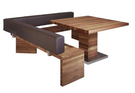 Corner Seat Helps You Fill Empty Corner from Schulte Design