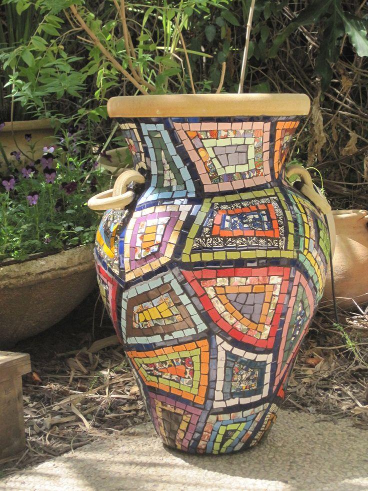 Mosaico al crochet