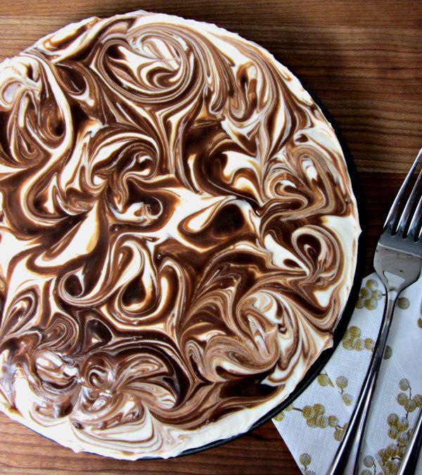 No Bake S'mores Cheesecake (make vegan)