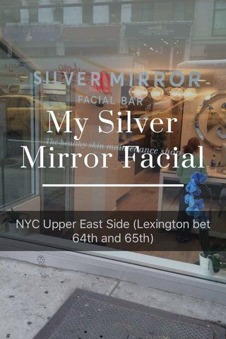 Come along with me as I go for my first facial at Silver Mirror in NYC. 183 best fanserviced b posts images on Pinterest