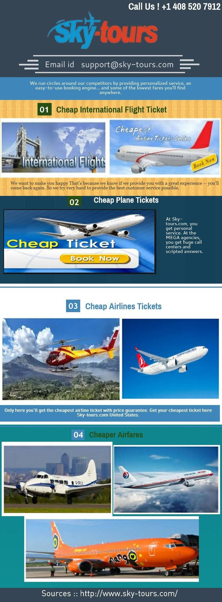 The leading player in online cheap plane tickets in USA, sky-tours offers great offers, some of the cheaper airfares, exclusive discounts of cheap plane tickets from Oslo to Vienna, a wide reach in terms of destinations and a seamless online booking experience. International and domestic flights, and with just a few clicks you can complete your booking.