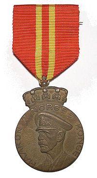 Haakon VIIs 70 årsmedalje