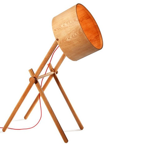 Asaf Weinbroom, Handmade Lights: Floor Lamps, Wooden Lamps, School, Designer