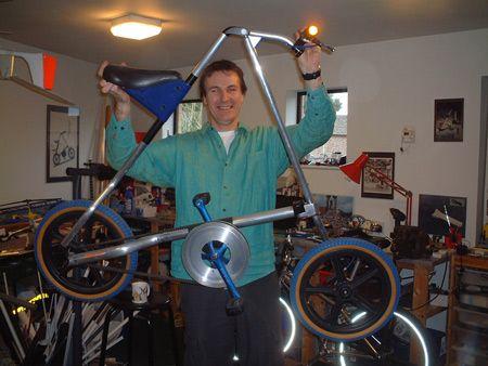 I'm proud of my brother!! Interview: Strida bike designer Mark Sanders - Dezeen