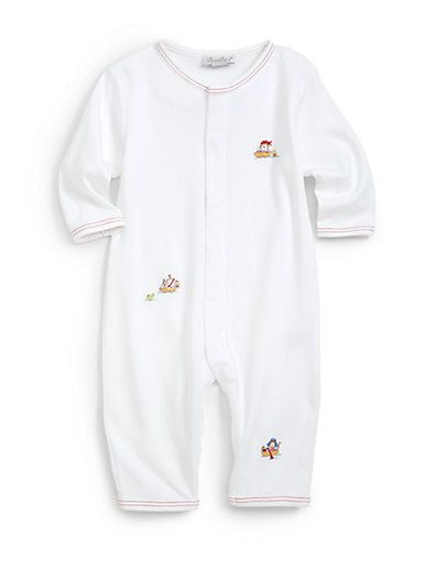 I love Kissy Kissy baby clothes.  The pima cotton is incredibly soft and stays soft wash after wash.