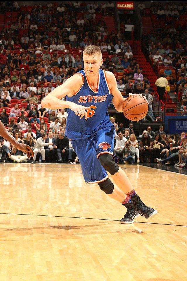Nba Basketball New York Knicks: Kristaps Porzingis