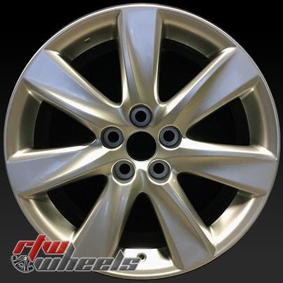 """Lexus LS600HL wheels for sale 2008-2012. 19"""" Silver rims 74248 - https://www.rtwwheels.com/store/shop/19-lexus-ls600hl-wheels-for-sale-silver-74248/"""