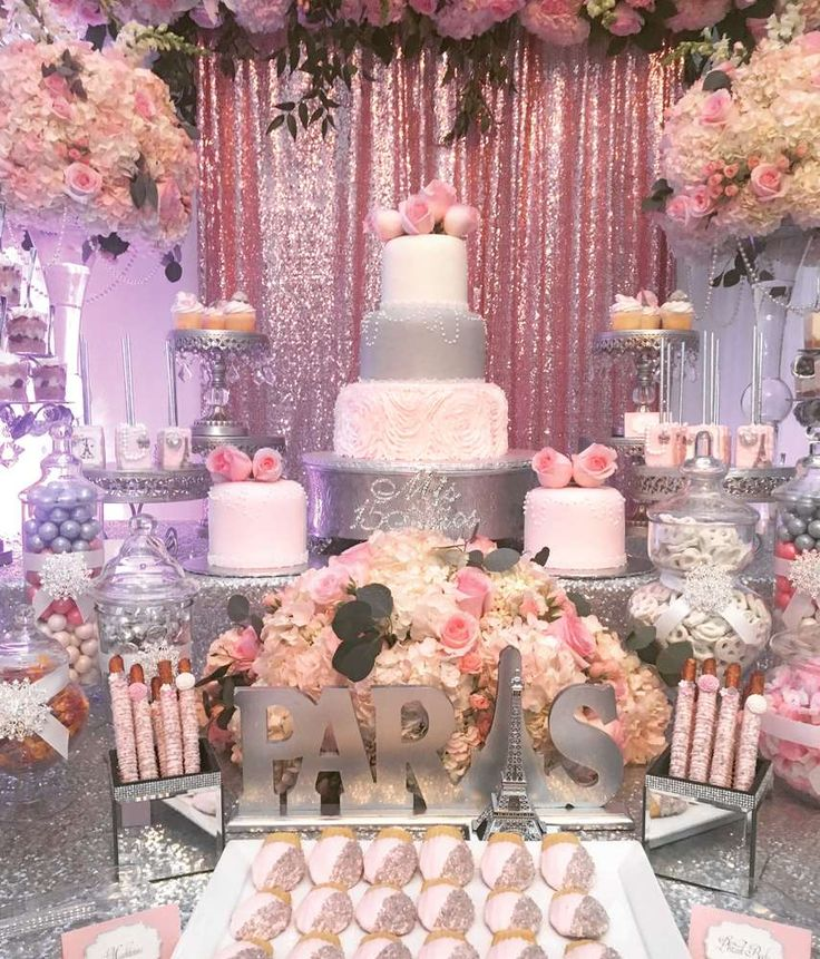 Parisian Quinceanera | CatchMyParty.com
