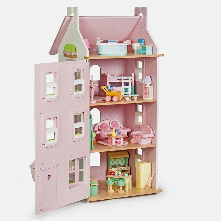 Купить Кукольный домик Виктория, Le Toy Van цена 13470руб. в Большие домики - Для 3-4 лет - Для 5-6 лет - Le Toy Van (Великобритания) - Кукольные домики и мебель - Для 7 лет и старше - Домики и мебель - Кукольные домики Le Toy Van, отзывы в Кукл