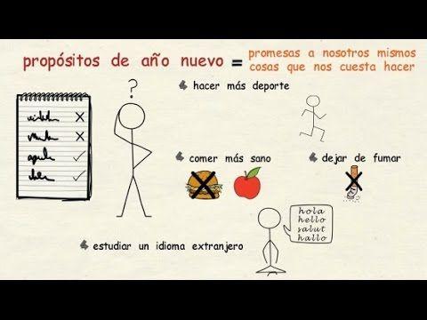 Aprender español: Año nuevo, vida nueva (nivel intermedio) - YouTube