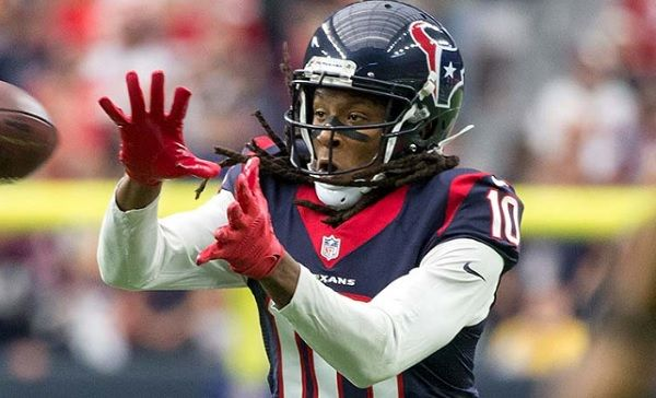 DeAndre Hopkins - Best in the NFL without a quarterback.