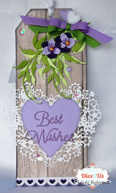 "Dies R Us: Bridal Shower ""Best Wishes""!"