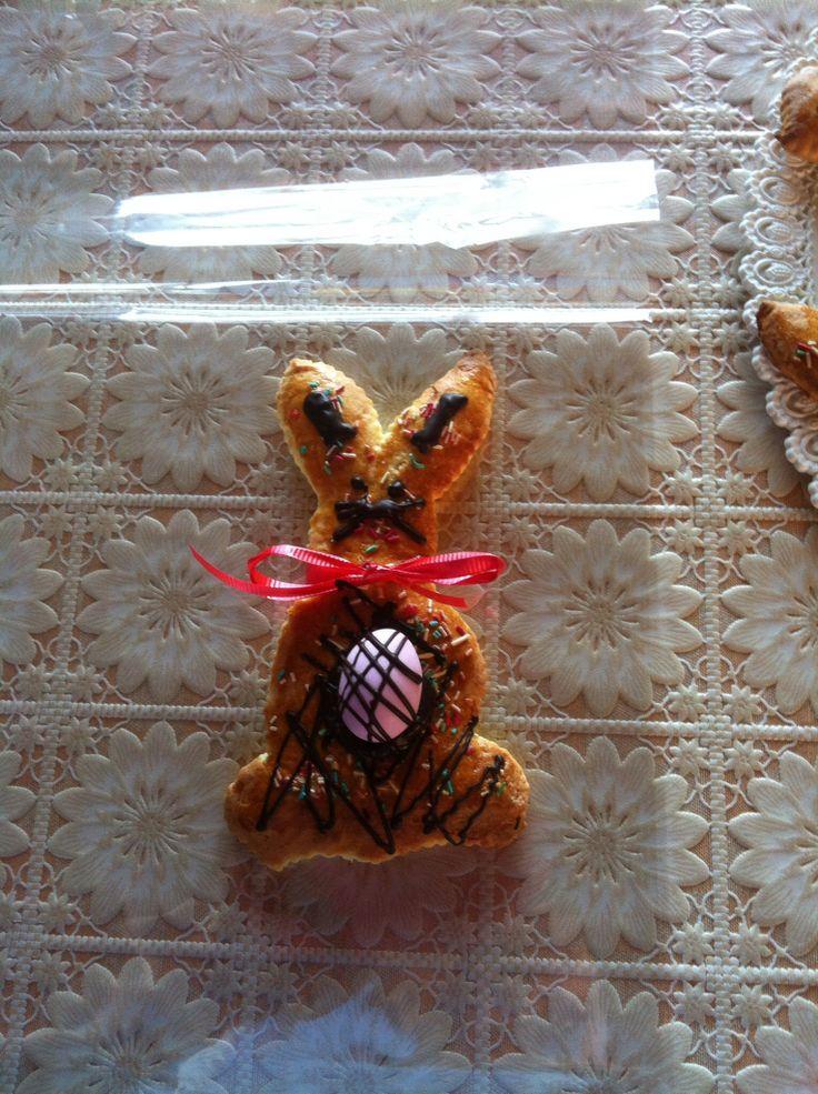 Coniglietto con uovo al cioccolato