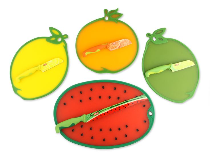 Now In Season….new Fruit-shaped Cutting Boards With