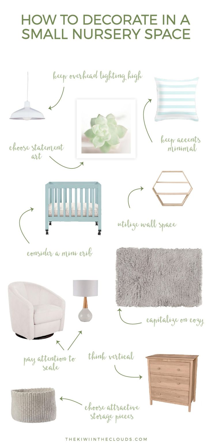 Are you struggling to plan a small nursery for your baby for How to maximize small spaces