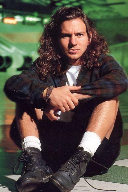 Eddie Vedder of Pearl Jam - the King of Grunge..miss the 90s ..