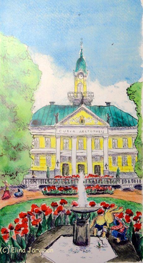 Curia Arctopolis - The city hall of Pori. By Elina Järvinen.