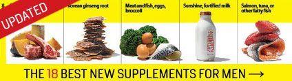 Top Supplements | Men's Health #L4L #animals #vitaminA #vitamins #FF
