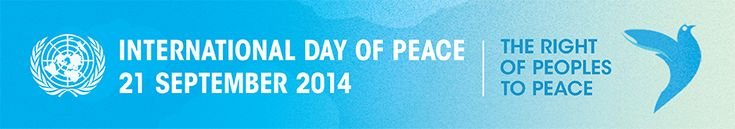 international day of peace | International Day of Peace, September 21