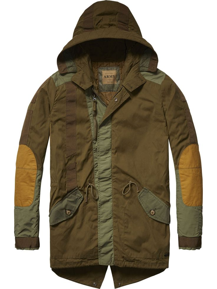 Engineered Parka | Jackets | Men Clothing at Scotch & Soda