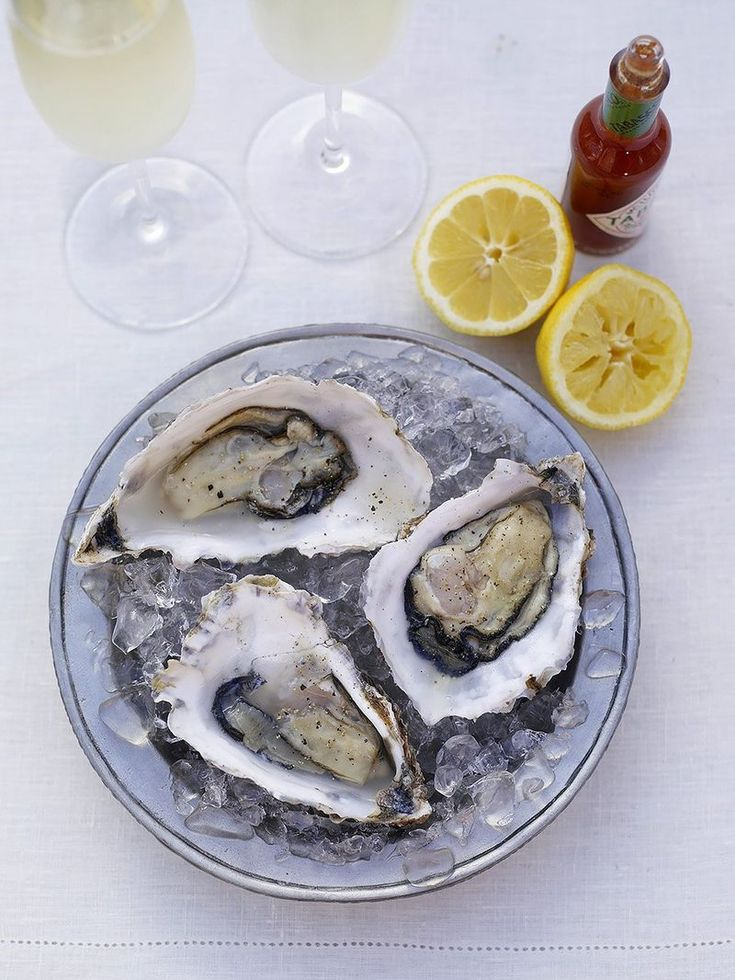 Fresh oysters seafood recipes jamie oliver recipes
