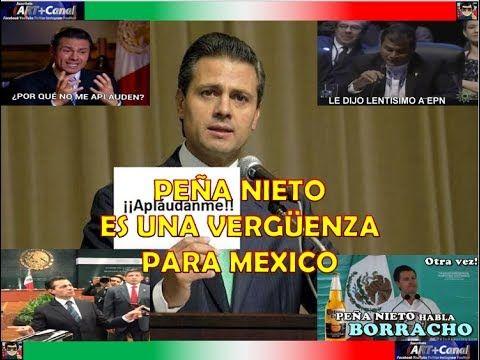 PEÑA NIETO es una Vergüenza para Mexico sigue C4G4ND0L4