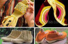 Tahapan Dalam Membuat Sepatu Rajut