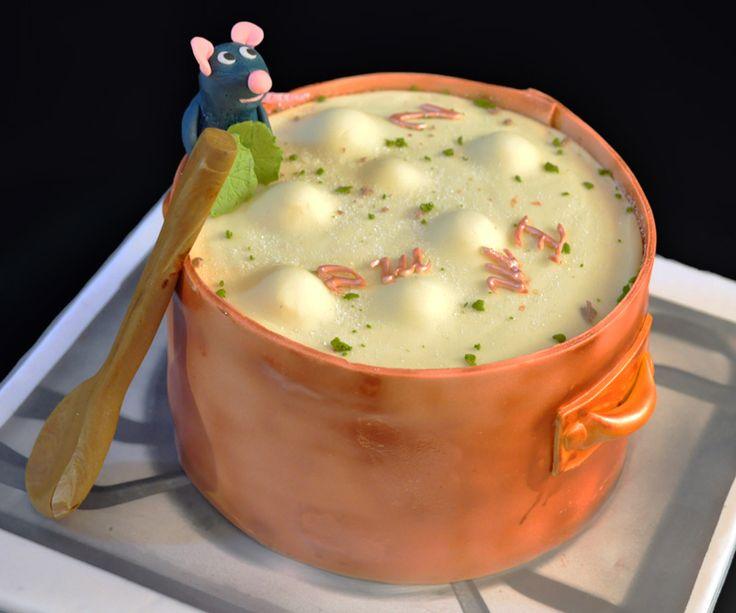 """La gâteau """"Ratatouille"""" par Puretentation.fr. Je suis fan !!"""