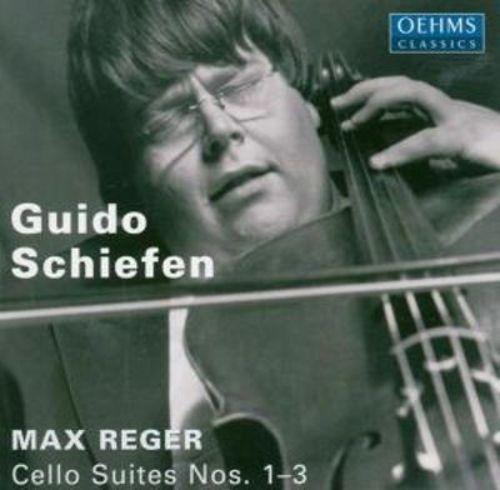 Max Reger: Cello Suites Nos. 1-3 [CD]