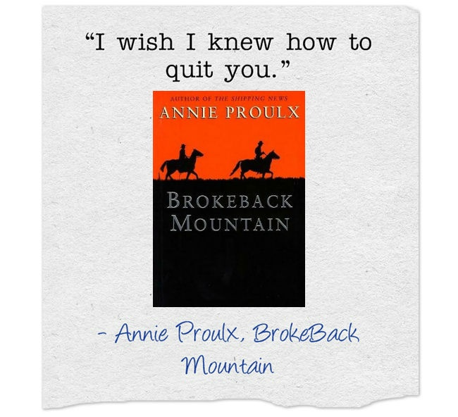 """masculinity in brokeback mountain by annie proulx essay A review essay [1] in two previous  context of annie proulx's short story, """"brokeback mountain,"""" and the  in warrior and cultic circles the masculinity of."""