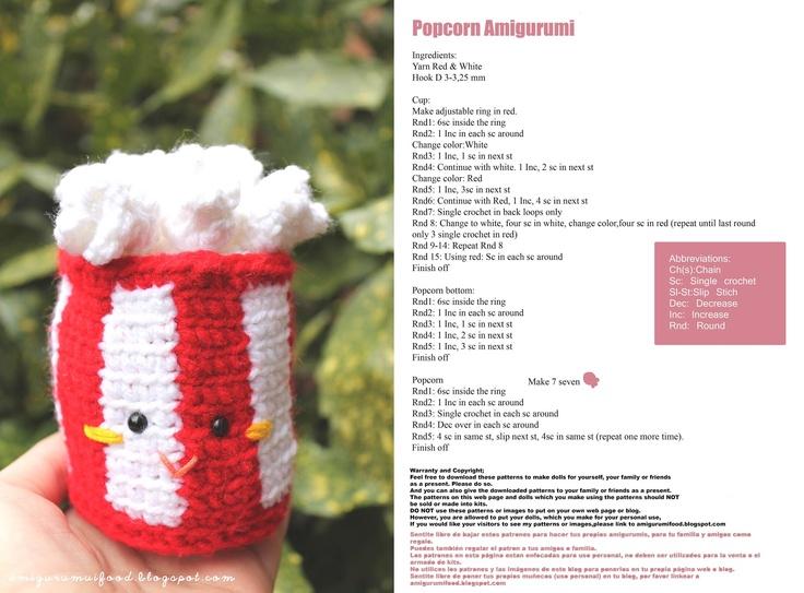 Amigurumi Food : Best crochet amigurumi food images play food