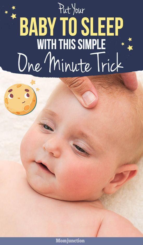 Lassen Sie Ihr Baby mit diesem einfachen 1-Minuten-Trick einschlafen   – Baby's sleep