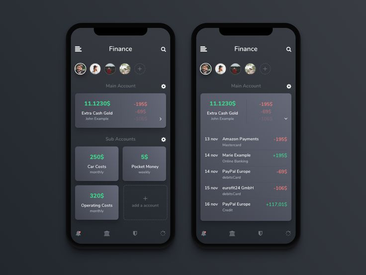 Hello Dribbblers! I would like to present to you today an App Idea, which I wish for a long time. Why can not I create subaccounts of my main account on my BankingApp? Automatic transfers to savi...