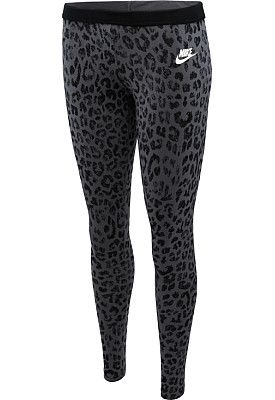 NIKE Women's Leg-A-See Cheetah Printed Tights - SportsAuthority.com