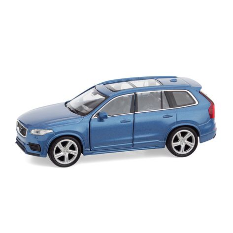 Kids young and old will love this beautifully detailed diecast 1:60 model of the all-new Volvo XC90 – even better, it comes with a pullback function that allows it to speed across hard surfaces on its own, with no batteries required.