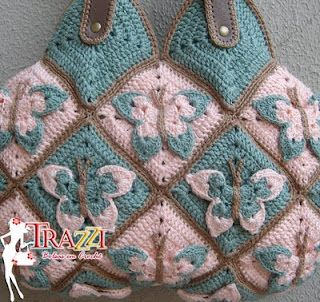 crochet purse - could do as a blanket