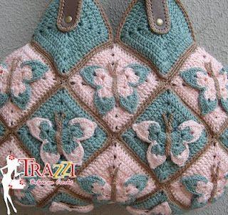 crochet purse CROCHET AND KNIT INSPIRATION: http://pinterest.com/gigibrazil/crochet-and-knitting-lovers/