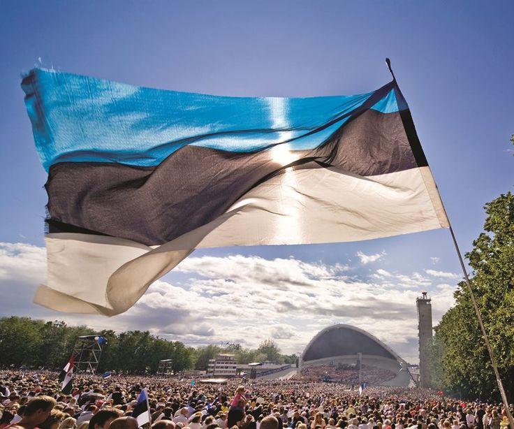 Estonia Flag Day.