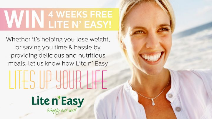 You should enter Lite n' Easy's Lite up your life! contest. There's a great prize and I think one of us could win!