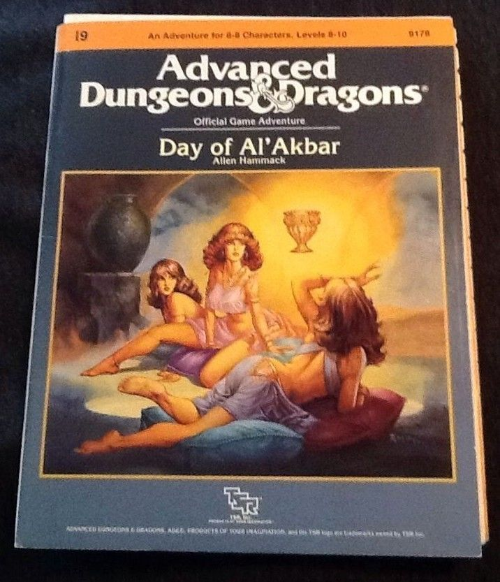 48 best dungeons dragons and role playing games images on 1986 advanced dungeons dragons official game module i9 day of al akbar 9178 tsr complete with maps in excellent condition fandeluxe Gallery
