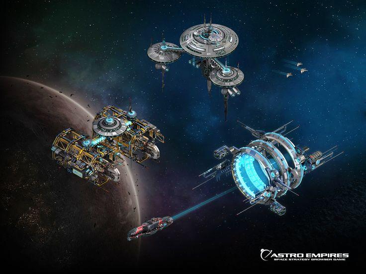 Astro Empires - Gratis MMO Browserbaseret Rumstrategispil
