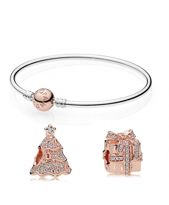 Pandora Rose Christmas Bracelet | Bracelet pandora rose, Bracelet ...