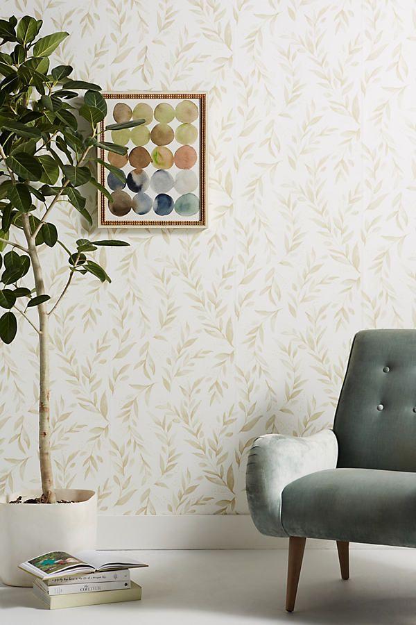 Magnolia Home Olive Branch Wallpaper In 2021 Magnolia Homes Decor Home Wallpaper