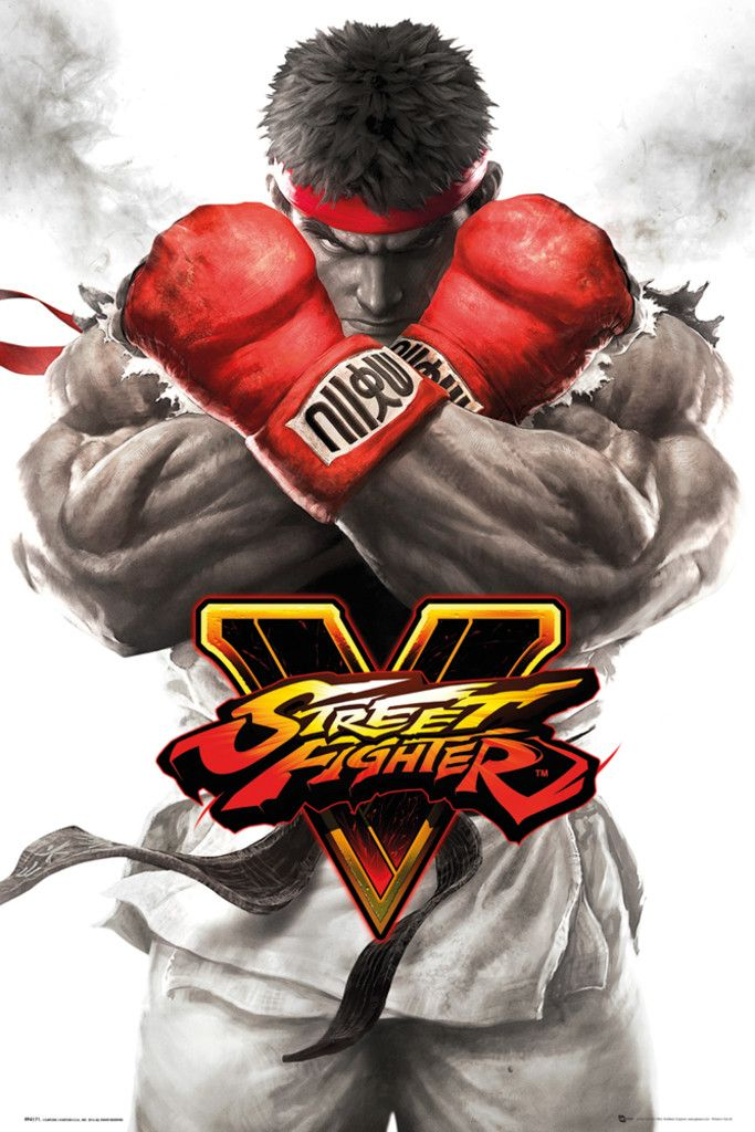 Street Fighter 5Ryu Key Art - Official Poster