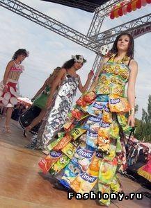 Необычные наряды / необычные платья фото